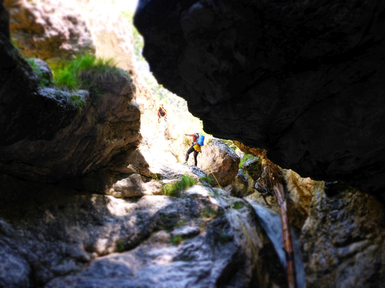 Canyoning Italien Abseiler