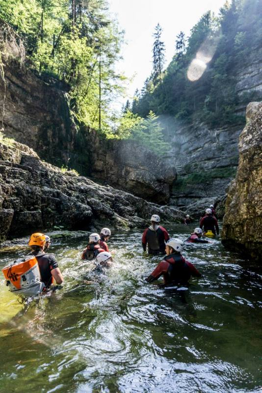 Canyoning Almbach